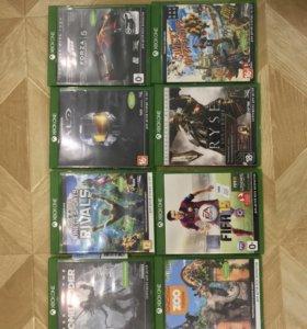 Xbox one 500 Гб + Kinect 2.0 + 8 крутых игр