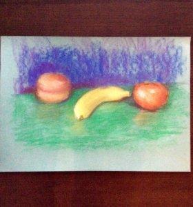 Картины в интерьер, рисунки (пастель, акварель)
