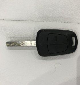 Оригинальный ключ, Opel astra H 2006 год