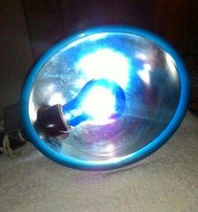 Лампа синия