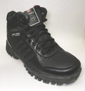 Ботинки кроссовки зимние 43-44 р-р