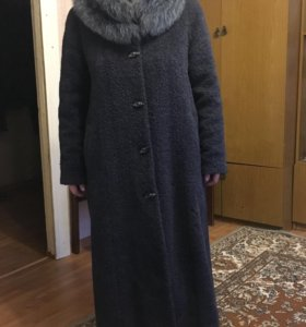 Пальто зимнее размер 52!
