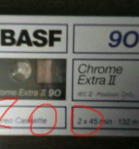 Аудиокассеты в упаковке(обмен)