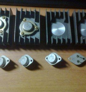 Радиодетали, транзисторы