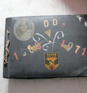 Дембельский альбом 1969-1971 ГДР