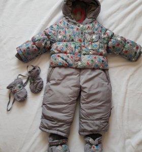 Комбинезон детский зима (новый)!