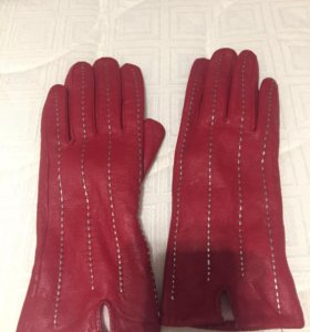 Перчатки - кожа
