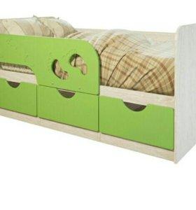 Кровать детская новая.