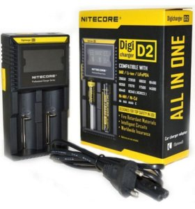 зарядное устройство Nitecore Intellicharger D2