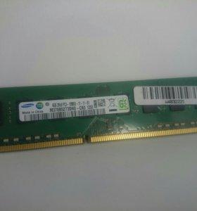 Samsung DDR3 4gb 1600мгц оперативная для компьютер