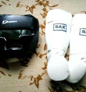 Шлем и защита ног