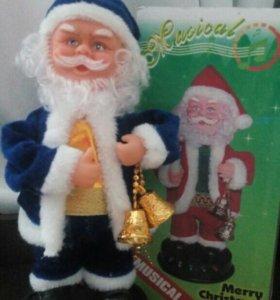 Новогодний Дед мороз ( музыкальный