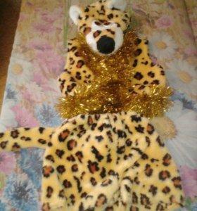 Новогодние карнавальные костюм леопарда