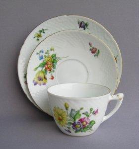 Чайная тройка Бинг и Грендаль Дания 1930-50-е годы
