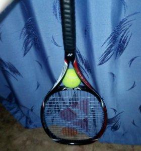 Теннисная рокетка+чехол+мяч