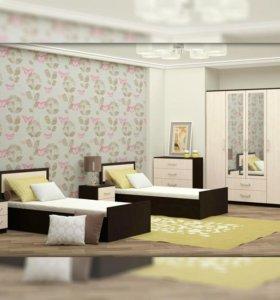 Спальня Фиеста 2е кровати