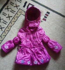 Курточка для девочки на 2-3 года