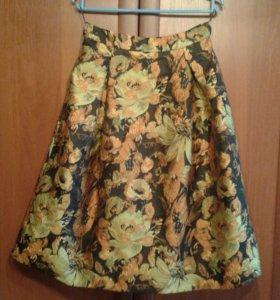 Нарядная юбка в стиле 50-ых