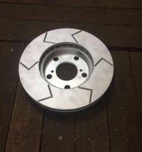 Насечки на любые тормозные диски