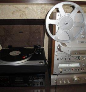 Записьс винила на катушки и компакт кассеты