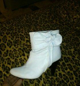 Ботиночки для снегурочки