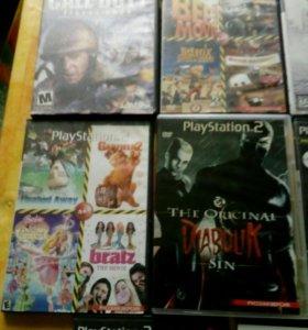 Диски б/у на PlayStation2