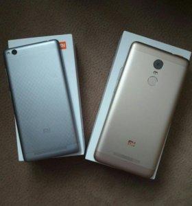 Xiaomi redmi note 3 pro se и redmi 3
