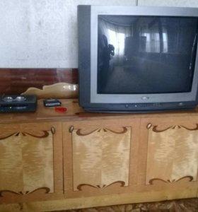 Тумба +телевизор