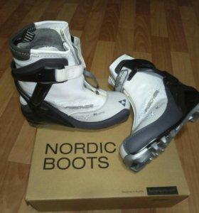 Fischer ботинки для беговых лыж
