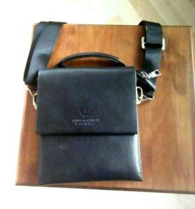 Кожаный сумка