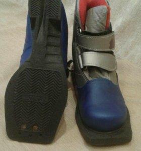 Ботинки лыжные на р-и 34