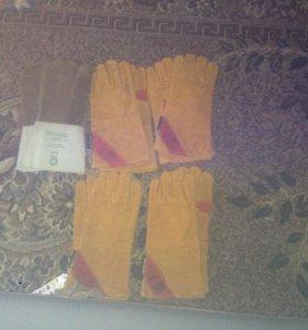 Сварочные перчатки ( краги )