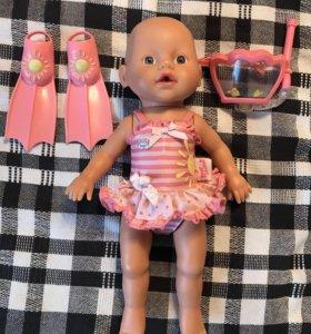 Кукла baby born плавающая