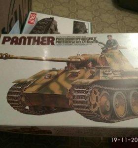 Сборная модель panther