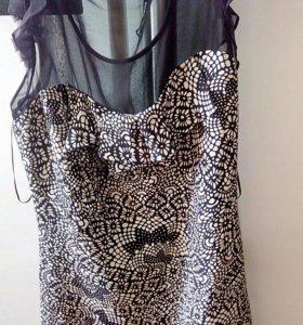 Платье шелковое Oasis