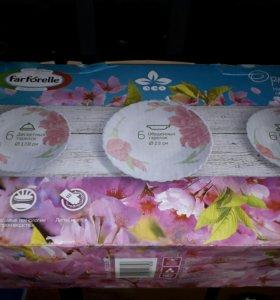 Набор столовых посуды орхидея