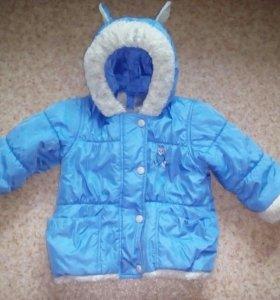 Детский зимний полукомбинезон и куртка