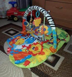 """Развивающий коврик для малышей """"Сафари"""""""