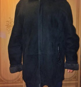 Дубленка куртка мужская зима