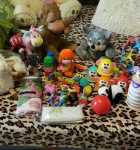 Пакет с игрушками