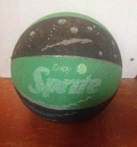 Баскетбольный мяч:SpaldinG,Sprite