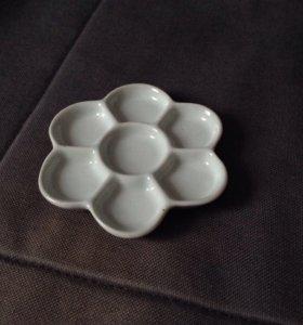 Керамическая палетка. Размер 12*12 см