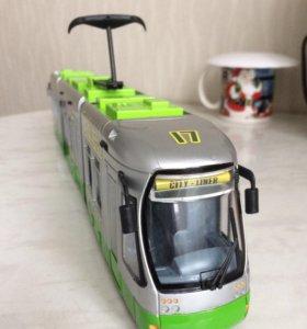 "Машинка ""трамвай """