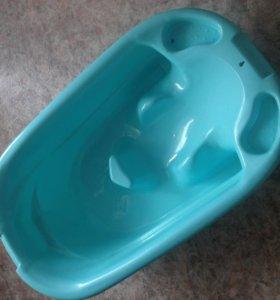 Детская ванна с горкой