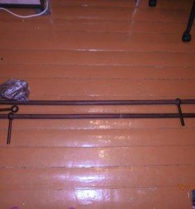Карниз деревянный разборный с кольцами (3м)