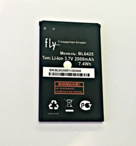 Аккумулятор на Fly BL6425