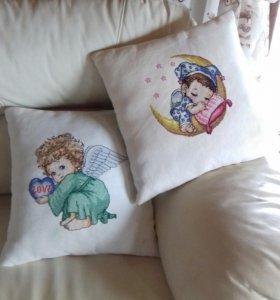 Подушки ангелочки