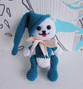 Мишка амигуруми игрушка