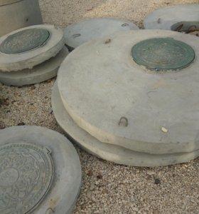 Плита перекрытия ППЛ-15 (крышка колодца 1,5 метра)