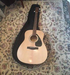 Акустическая гитара Yamaha f 310+ чехол+струны